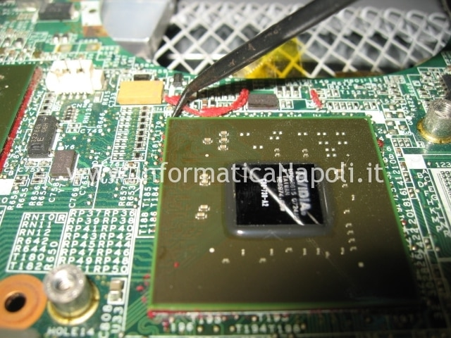 riparazione nVidia HP DV6000 napoli