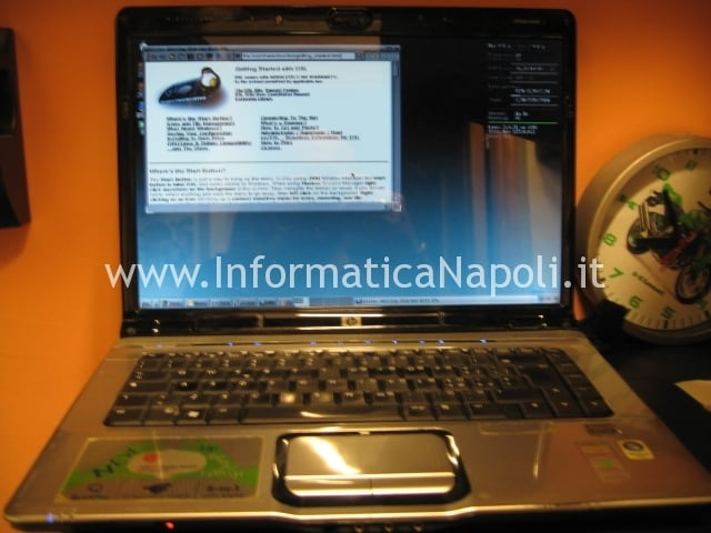 assistenza HP DV6000 riparato napoli