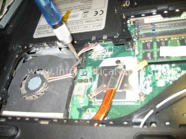 reflow nvidia Packard Bell MX51 ALP-Ajax D