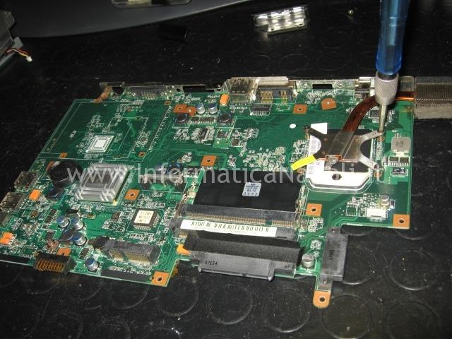 scheda madre non funzionante Packard Bell MX51 ALP-Ajax D