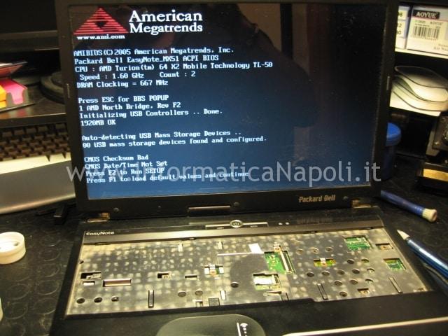 Packard Bell MX51 ALP-Ajax D funzionante