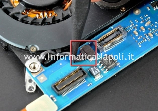 A1237 ventola MacBook air A1237 A1304 metà 2009