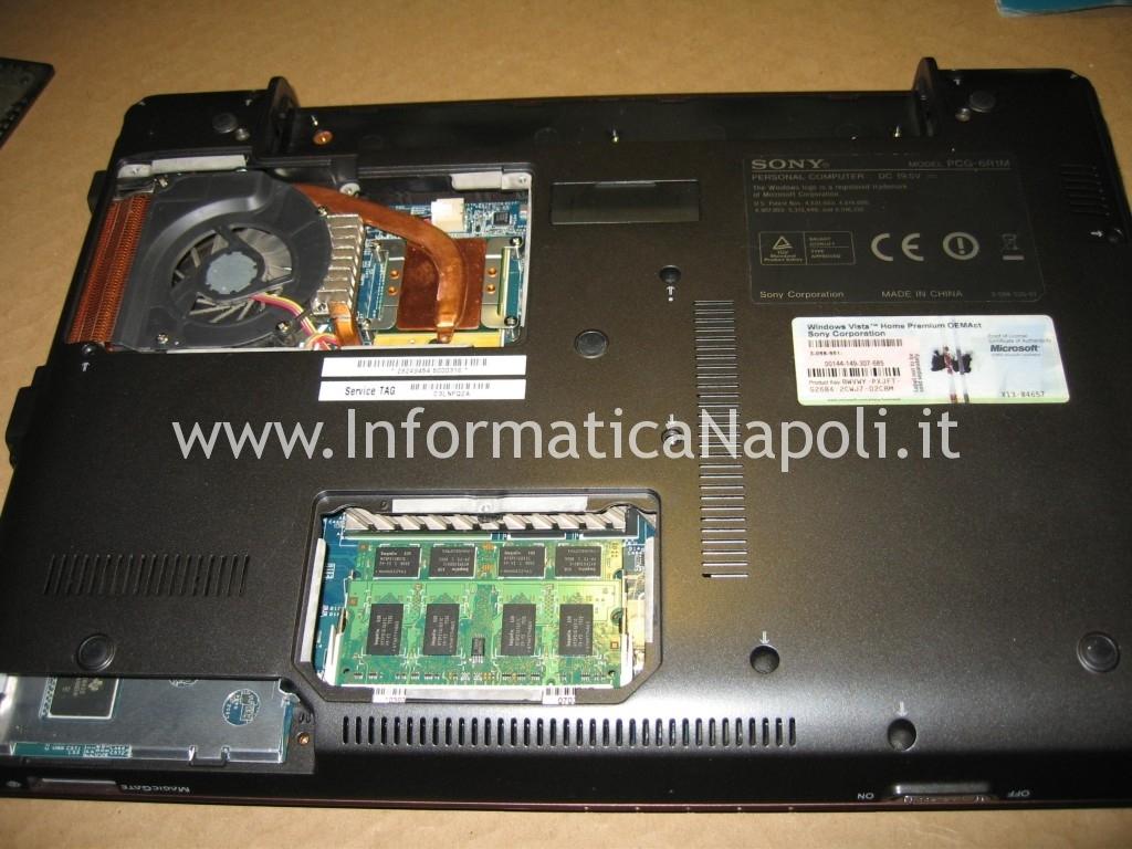 reflow reballing Sony Vaio C2Z 6r1m