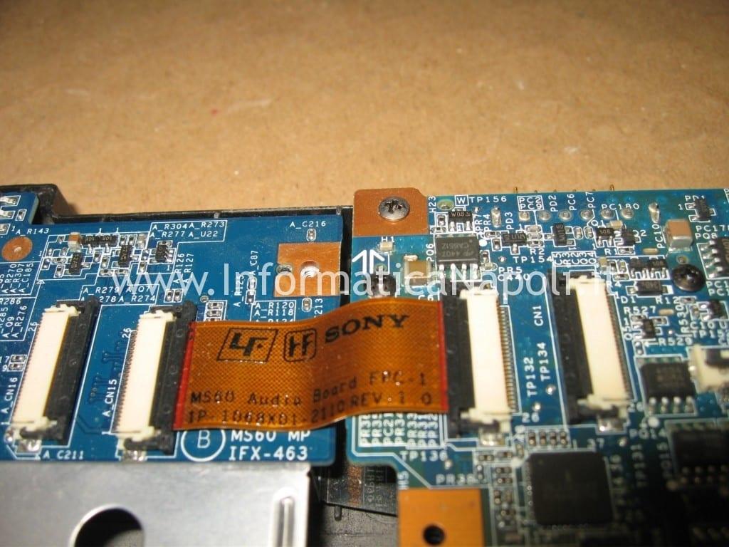 scheda madre CPU Sony Vaio C2Z 6r1m