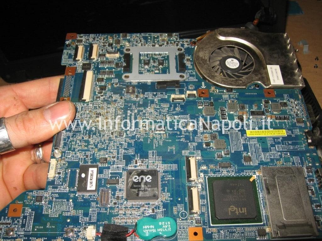 sostituzione scheda madre Sony Vaio C2Z 6r1m