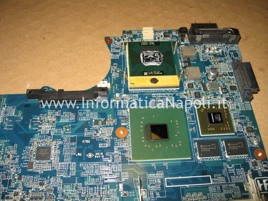 reballing rework GPU Sony Vaio C2Z 6r1m