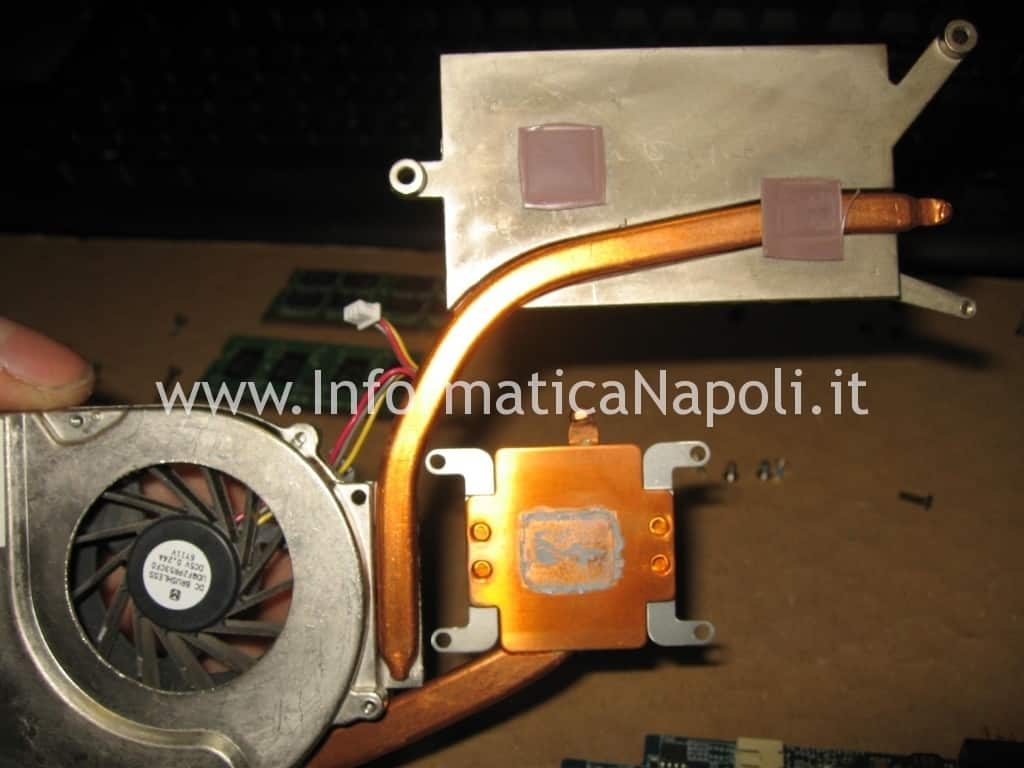 reballing reflow scheda video Sony Vaio C2Z 6r1m