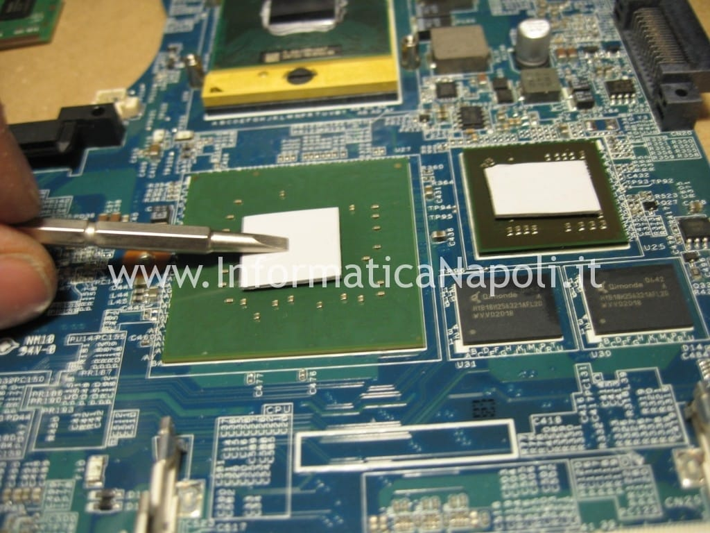 reflow reball chipset Sony Vaio C2Z 6r1m