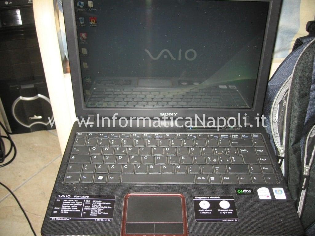 assistenza Sony Vaio VGN-C2Z 6r1m funzionante riparato