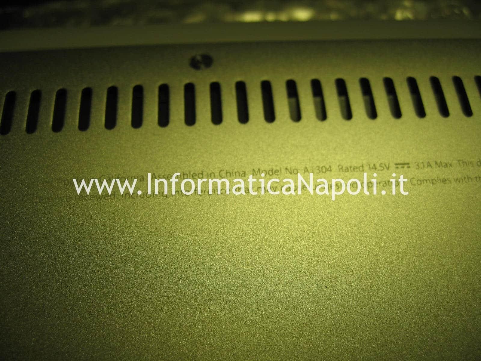 macbook air 13 a1304 schermo nero