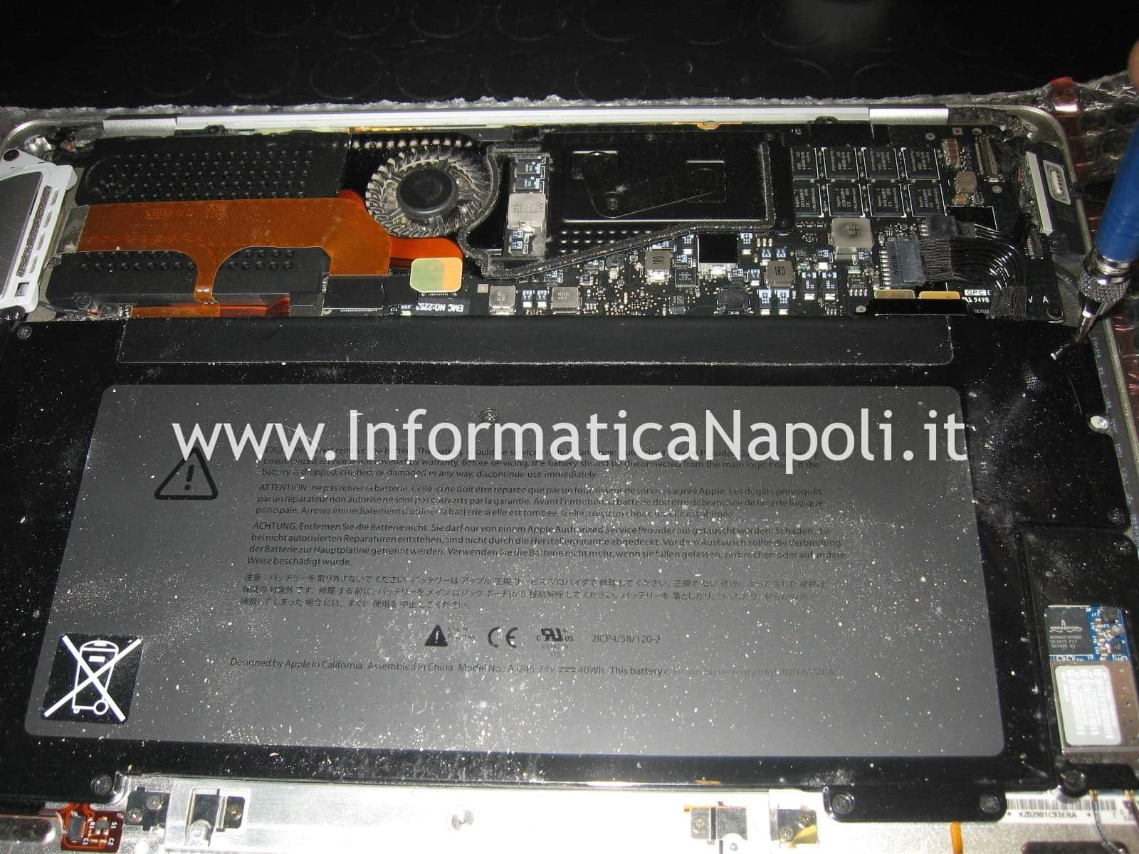 sostituzione logic board MacBook air A1237 A1304 metà 2009