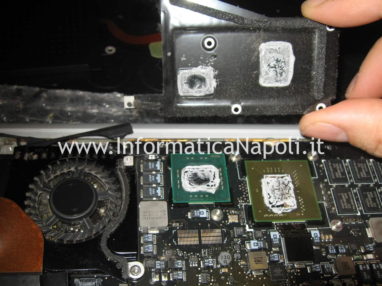 pasta termoconduttiva macbook air 13 a1304