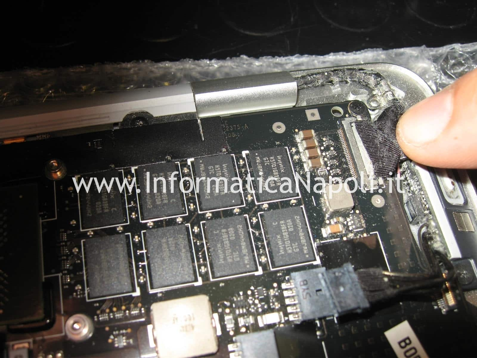 ram macbook air 13 A1237