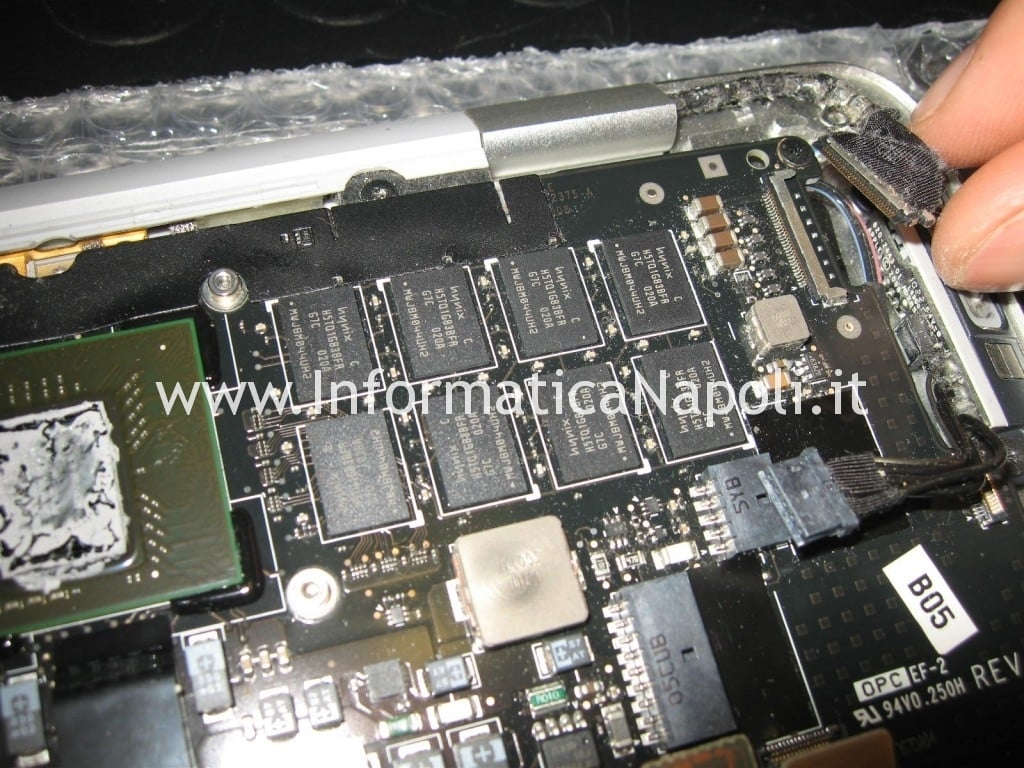 jack video macbook air 13 A1237