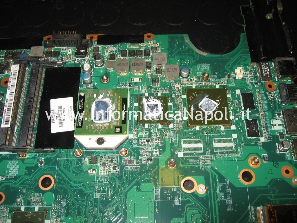 reflow reballing ATI HP Pavilion dv6 2025sl