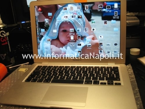 macbook air 13 a1304 riparato