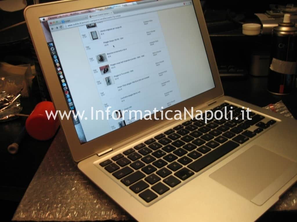 macbook air 13 A1237 funzionante