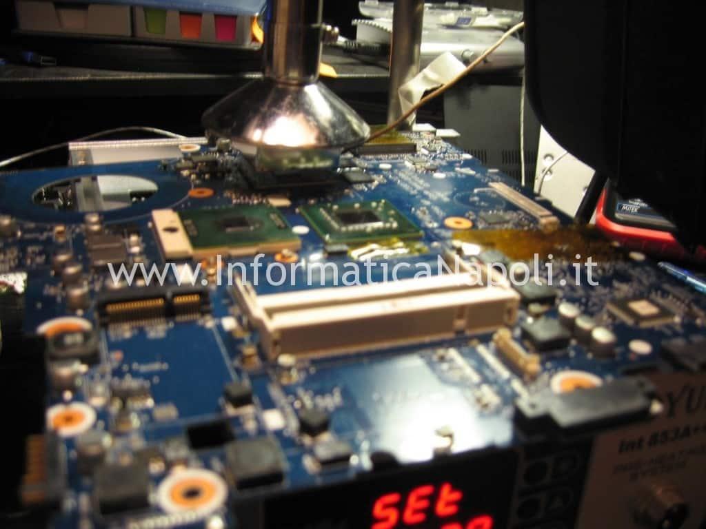 reflow reballing samsung NP R700