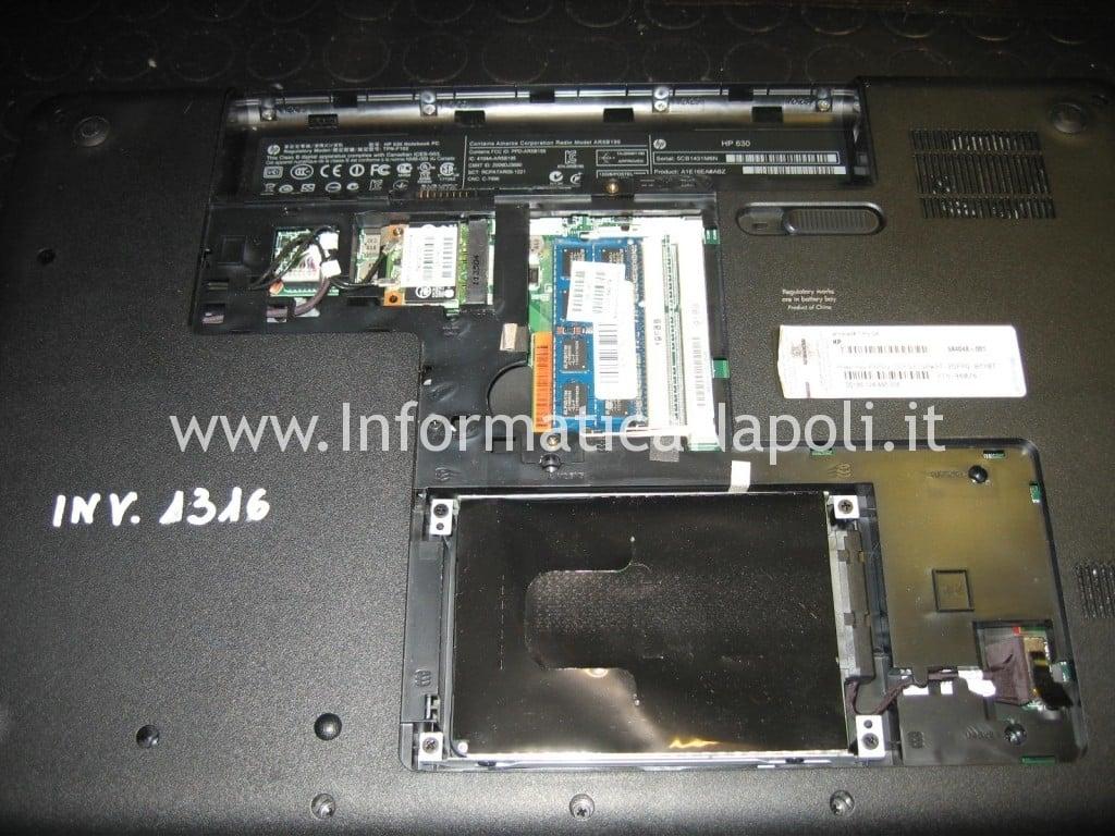 aprire HP 630