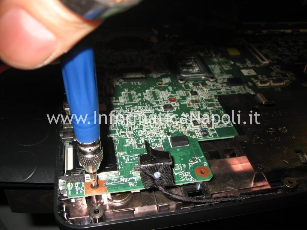 riparazione di un HP 630 che non si accende