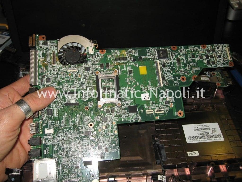 scheda madre HP 630 non funziona