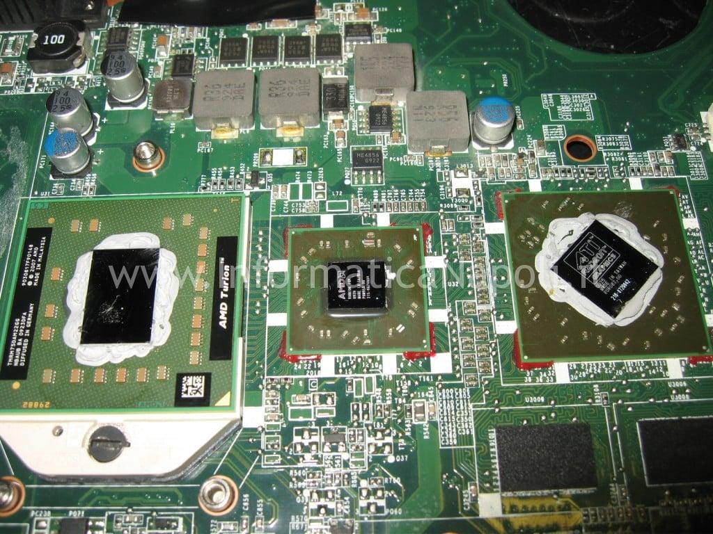 problema video HP DV6 non si accende 1230sl