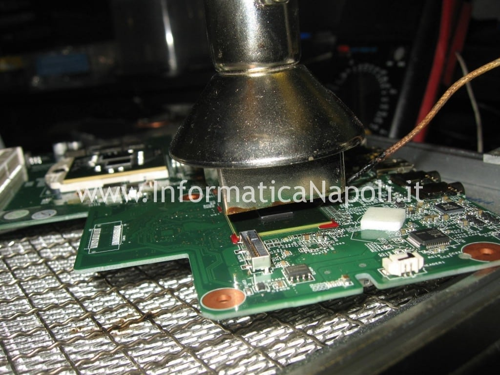 reball HP 630 reflow rework scheda video