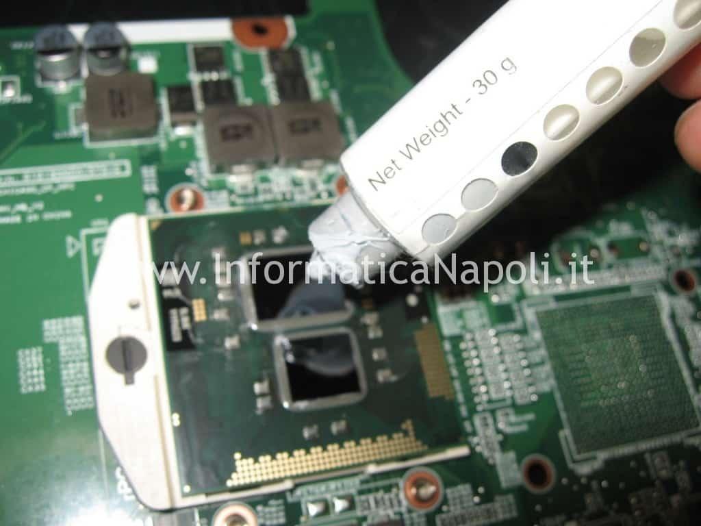 reflow rework reballing HP 630 scheda video
