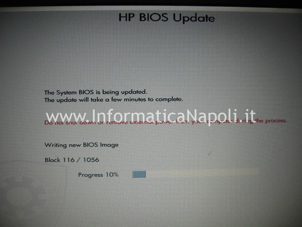 aggiornare il bios HP 630