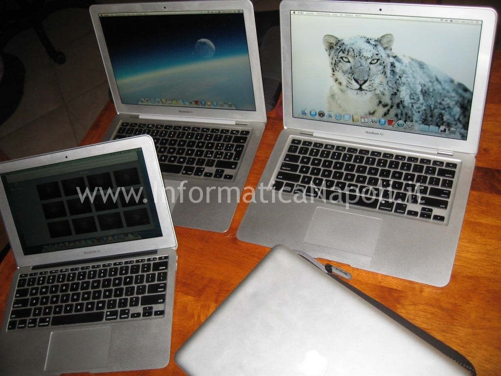 Problema MacBook air A1237 A1304 metà 2009