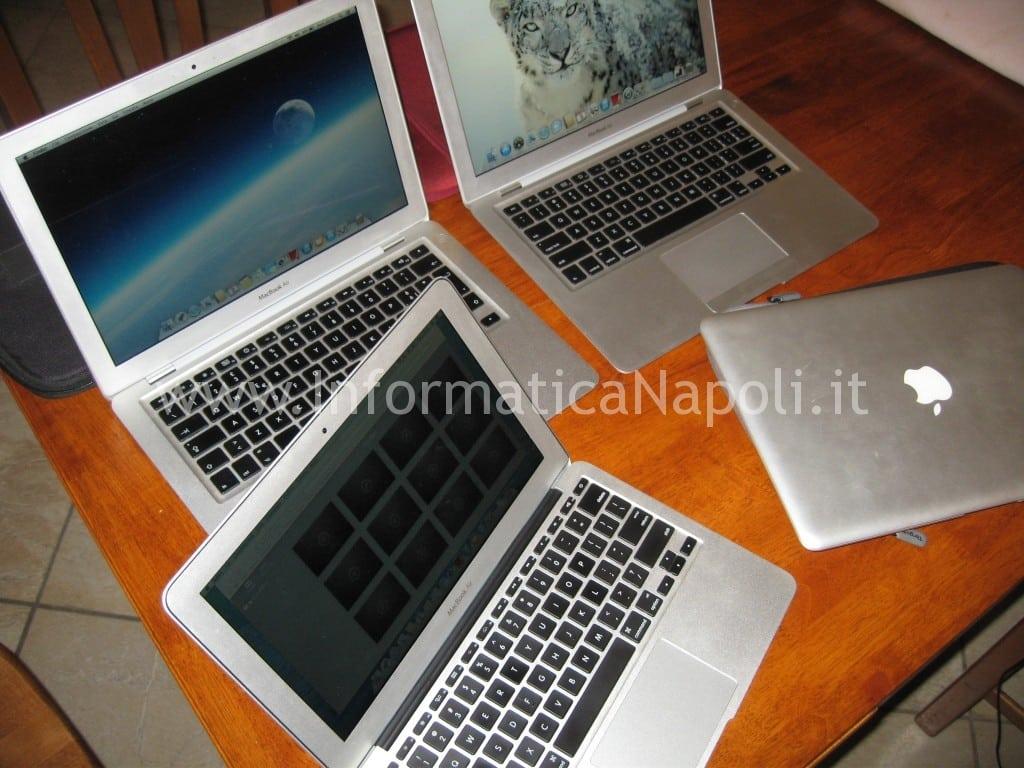 Problema accensione MacBook Air 13 A1237