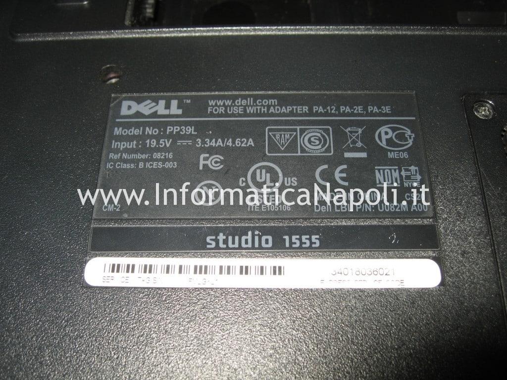 riparazione Dell Studio 1555