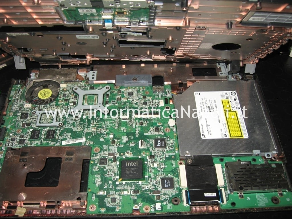 scheda madre CPU GPU Dell Studio 1555
