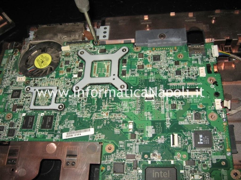 problemi scheda madre Dell Studio 1555
