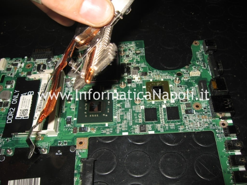 dissipatore ventola CPU Dell Studio 1555