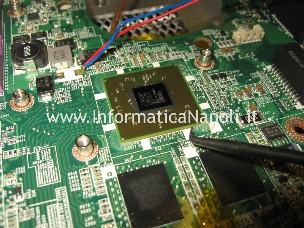 reflow GPU CPU Dell Studio 1555