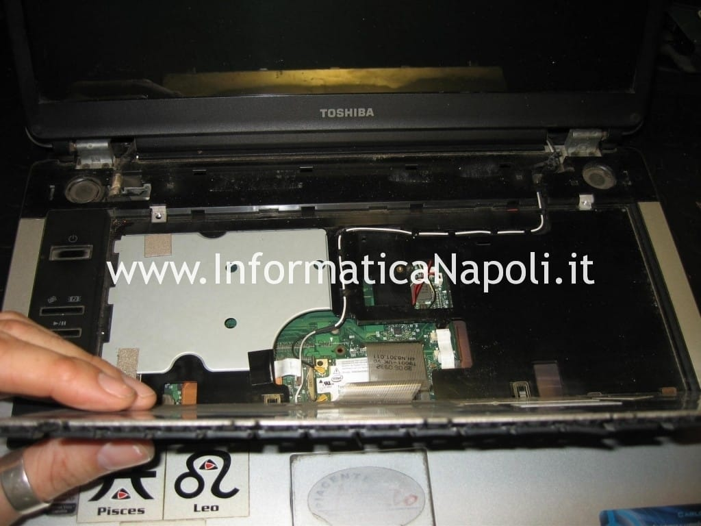 Toshiba Satellite A100 - 139 PSAA8E problemi video