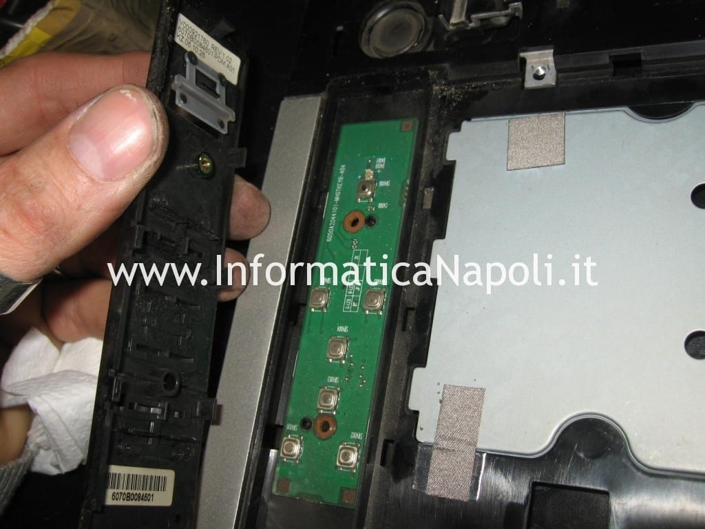 interruttore accensione Toshiba Satellite A100 - 139