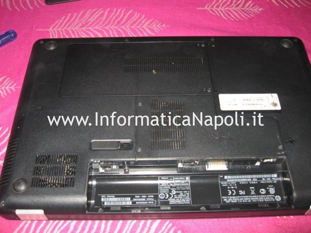 riparazione refllow Compaq Presario CQ 56