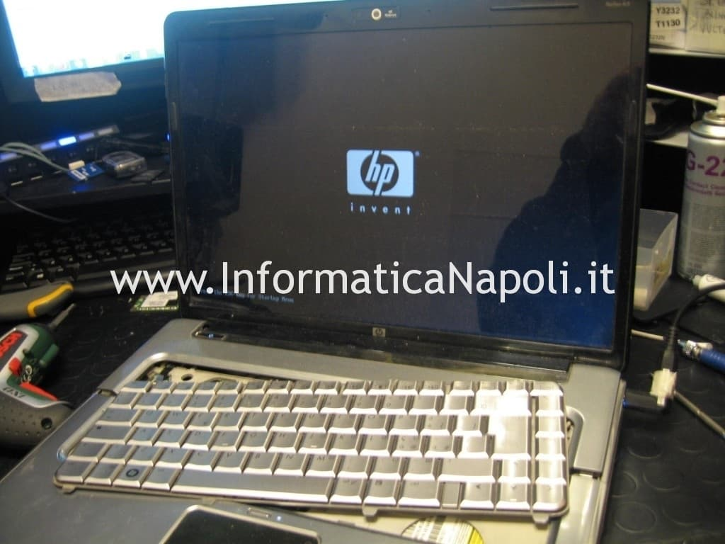 HP DV5 1110el riparato