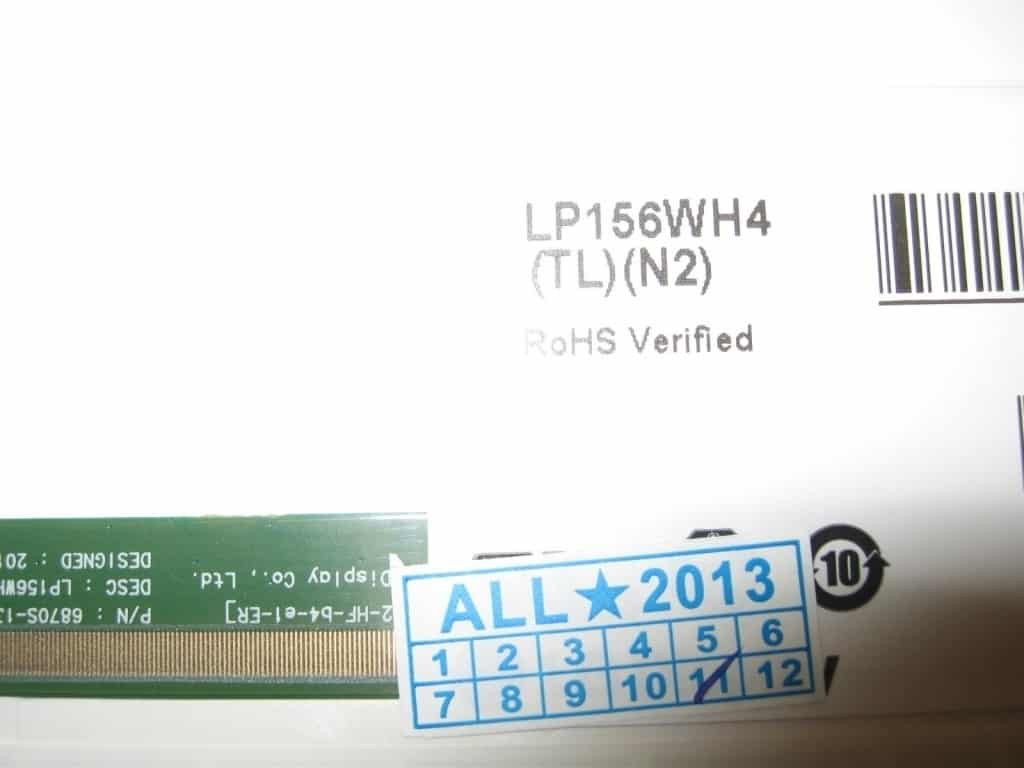 led lcd b156xw02 LP156WH4 CQ56