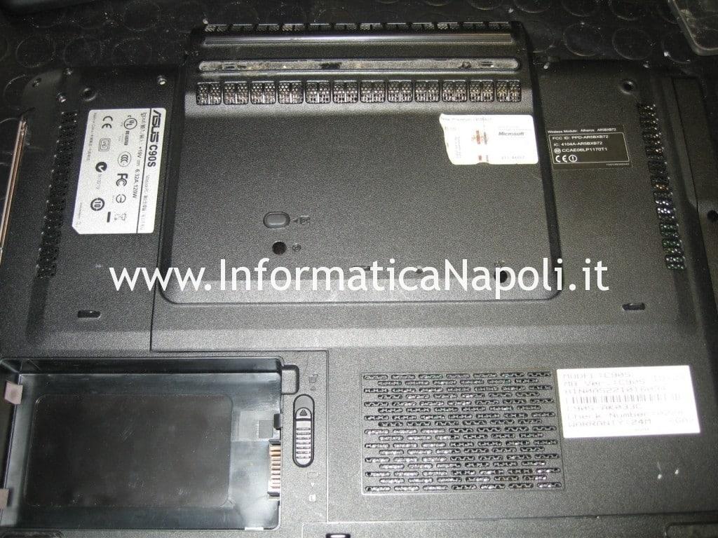 Smontare Asus C90s