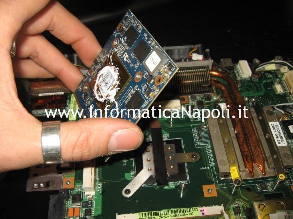 riparare video Asus C90s