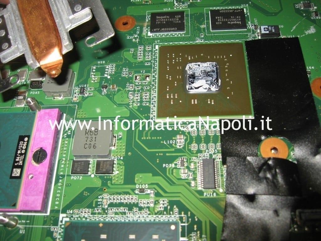 reballing CPU GPU VGN-AR78E PCG8121M