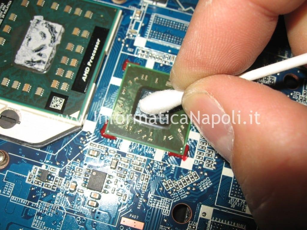 Pulizia ati Compaq CQ 56 105SL 109SL DA0AX2MB6E1