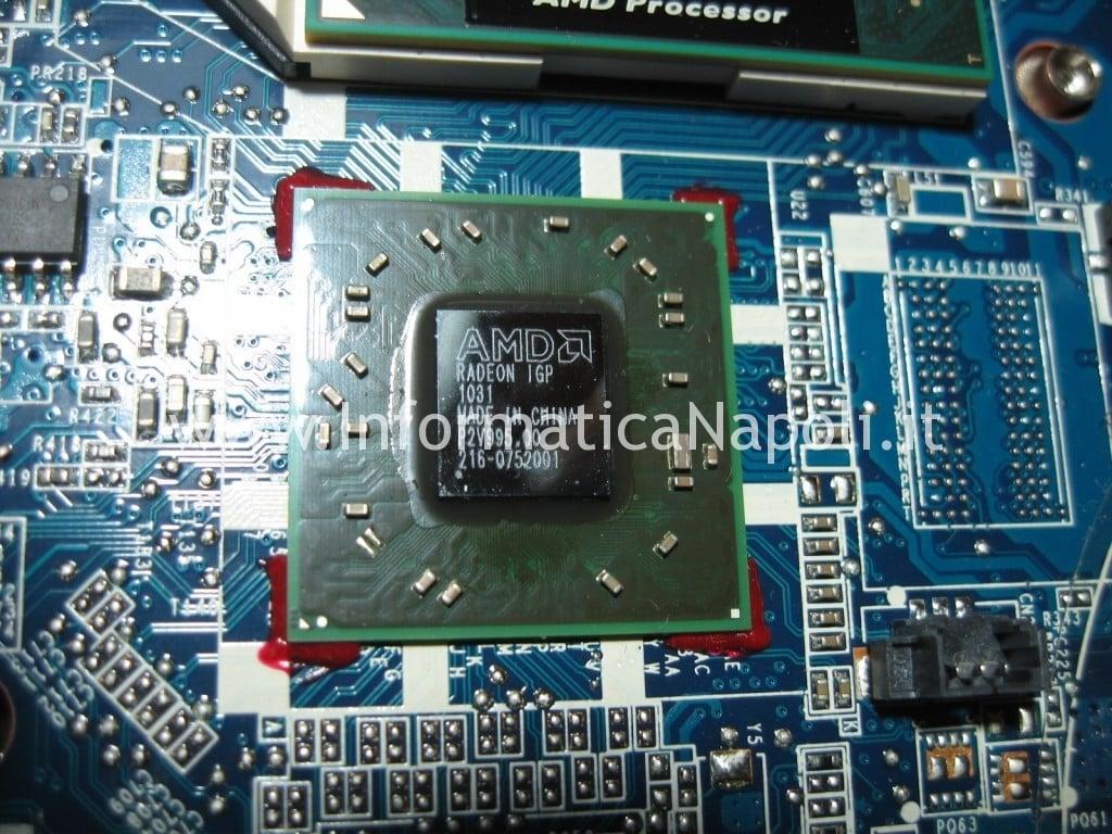 reballing ati Compaq CQ 56 105SL 109SL DA0AX2MB6E1