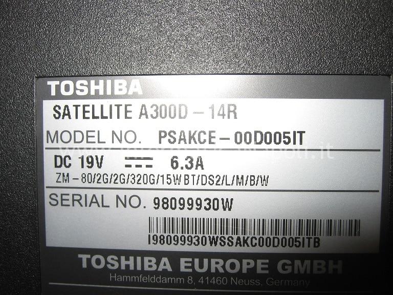 Satellite A300D 14R PSAKCE