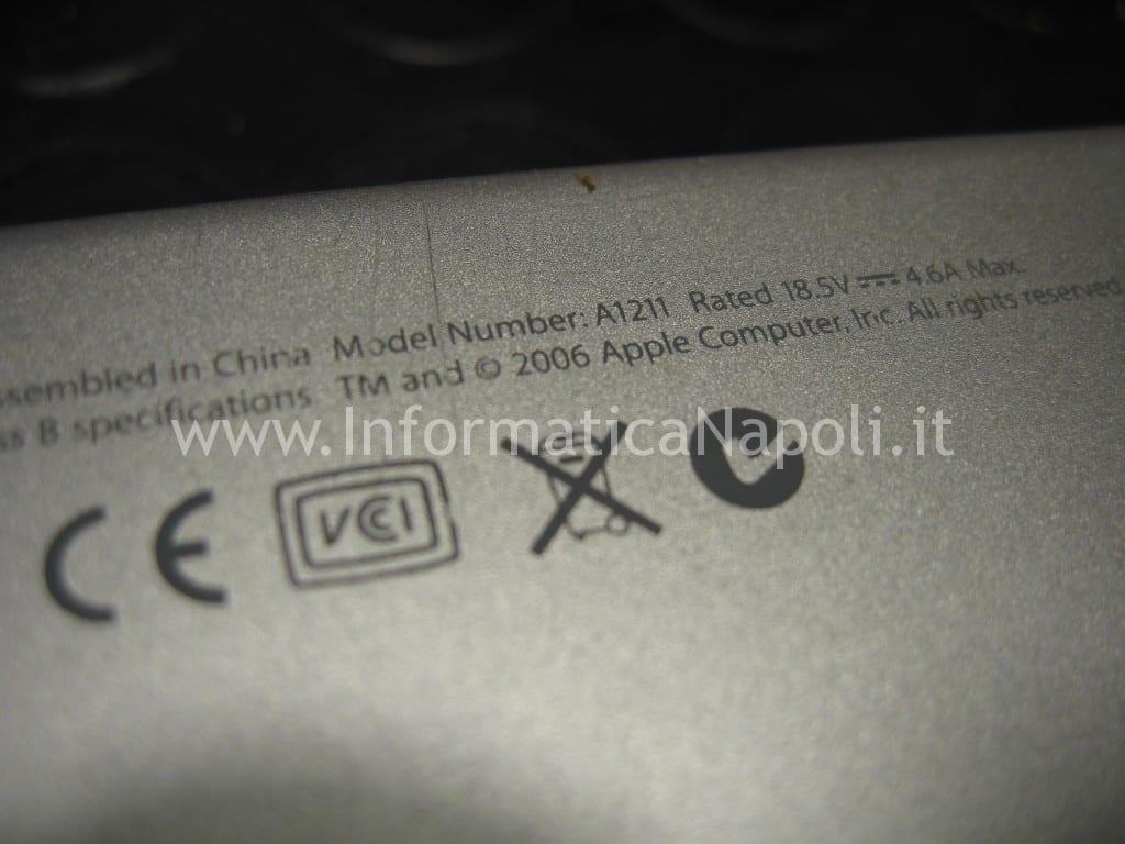 Riparazione macbook pro A1211