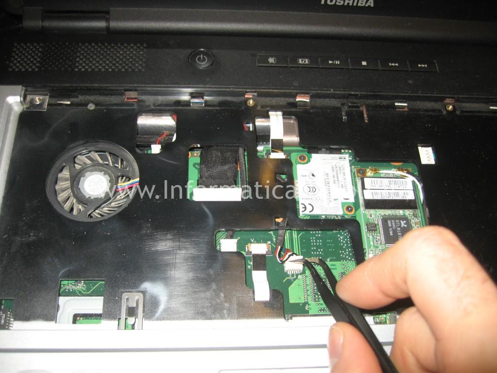 flat cavetti connettori Toshiba L350 - 10F PSLD0E