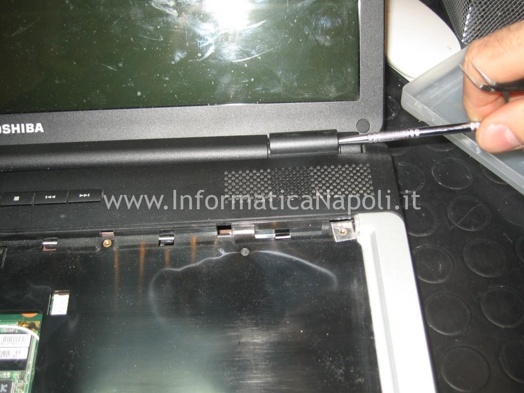 aprire scocca Toshiba L350 - 10F PSLD0E